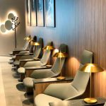Vibia Brightens Rome's Airport Lounges - Vibia