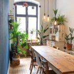 We don't know what to like more - the light, the vintage furniture, the plants!? Well, probably all of it! by @leamkb… - Houses interior designs