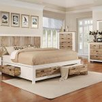 "Western 5-Piece Queen Bedroom Set with 32"" LED-TV at Gardner-White"