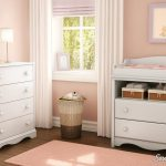 White Changing Table and 4-Drawer Chest Set - Angel