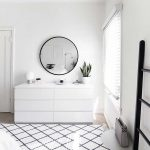 White dresser minimal bedroom - DIY Crafts