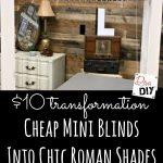 Window Treatment: How to Take Blinds from Cheap to Chic