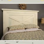 With its country-casual style, this headboard can blend into a variety of decora...