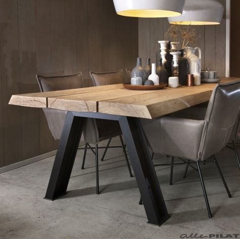 Wood dining tables for your contemporary dining room