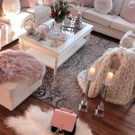 Wooden floors, white furniture and lots of pink. Oh yeah. - Home Decor