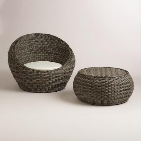 World Market: All-Weather Wicker Formentera Egg Outdoor Chair Review   Tastefully Inspired Blog
