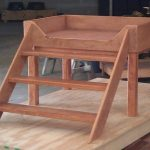dog beds platform with stairs | Elevated Dog Bed Creation Story by Mid-South Bun...