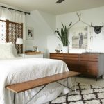 modern ceiling fan in eclectic bedroom - Primitive and Proper                   ...
